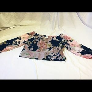 New York & Company Floral Top